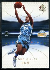 2004-05 SP Authentic Limited Extra 21 Andre Miller 14/25