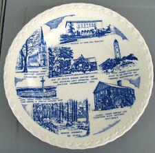 NORFOLK, Virginia*Vintage Blue Melinda Collectors Plate *Vernon Kilns Pottery
