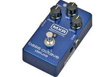 MXR M288 bass octave Deluxe Guitare Basse Effet Pédale Octaver-NEUF!