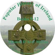 Popular History of Ireland, Books 9-12 Thomas D'Arcy McGee Audiobook on 1 MP3 CD