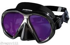 Atomic SubFrame Arc Dive Mask for FreeDiving Scuba Snorkeling Black