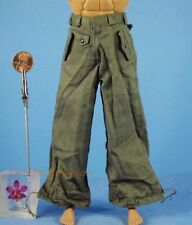 1:6 Action Figure WW2 German Officer Commander Corps Army Pants Trousers OK009