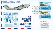 """A400M-3 FFC SPAIN """"1st Flight Military Aircraft Airbus A400M MSN001"""" 2009"""