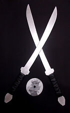 Krabi Krabong Aluminum Practice Metal Swords Martial Arts Training DVD