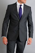 Ted Baker Mens Endurance Sovereign Sterling Wool Gray Blazer Jacket Size 4 40S