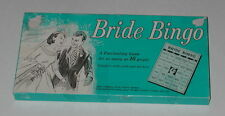 Bride Bingo Leister Game Co. 1027 Edition Vintage Board Game (Complete)