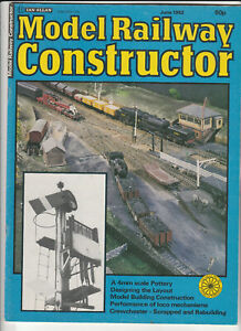 MODEL RAILWAY CONSTRUCTOR Magazine June 1982 - A 4mm Scale Pottery