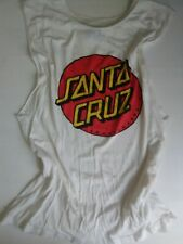 New listing Santa Cruz Sleeveless Tee Small Med Vintage (good condition) small black mark