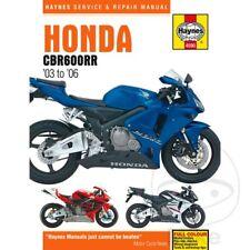Honda CBR 600 RR 2005 Haynes Manual de reparación de servicio 4590