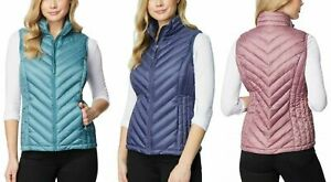 32 DEGREES Women's Packable Vest , Lightweight fill, NWT