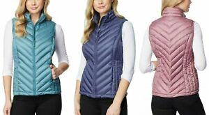 32 DEGREES Women's Packable Vest , Lightweight fill, NWT