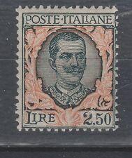 FRANCOBOLLI 1926 REGNO FLOREALE L. 2,50 MNH Z/1948
