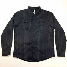 Lululemon Thermal Quilted Button Up Light Winter Jacket Mens Sz XL RN 106259 A2