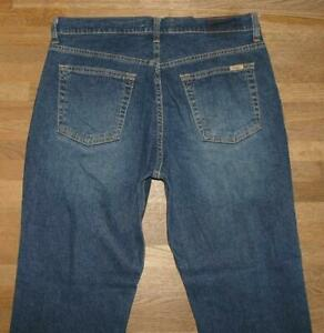 "elastische LEVI`S Herren- JEANS / LEVI STRAUSS Blue-Jeans blau ca. W33"" /L31"""