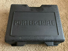 PORTER CABLE 6902 ROUTER 1001 & 6931 PLUNGE BASE, EDGE GUIDE AND BITS