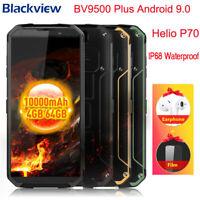 Blackview BV9500 Plus IP68 Waterproof Smartphone 4+64GB Helio P70 Octa Core 16MP