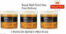 3 X POTS OF PRO WAX, ORIGINAL POT WAX FOR FACIAL AND BODY HAIR REMOVAL