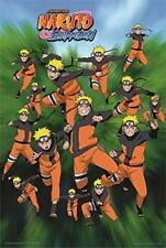 """Naruto - Shadow Clone Techniques Laminated Poster - 24.5"""" x 36.5"""""""