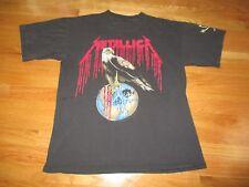 "Vintage 1993 METALLICA ""Nowhere Else to Roam"" Concert Tour (XL) T-Shirt PUSHEAD"