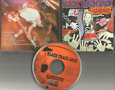 BLACK TRAIN JACK Handouts w/ 2 UNRELEASED TRX PROMO DJ CD Single 1994 USA MINT