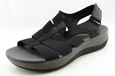 Clarks Cloudsteppers Size 7 M Black Gladiator Synthetic Women Sandal Shoes