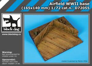 Black Dog 1/72 WWII Airfield Diorama Base (165 x 140mm)
