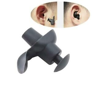 5 Pairs Silicone Ear Plugs Earplugs Swimming Waterproof Swimmers Sound-proof 'F
