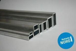 Alu Rechteckrohr Aluminium Hohlprofil Rohr Vierkantrohr Aluprofil Kantrohr AlMg