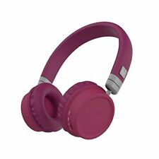 KitSound Harlem Over Ear Headphone With Mic - Purple