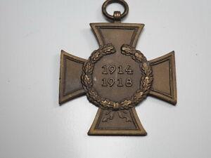 KRIEGSVERDIENSTKREUZ 1914/1918 1. WK ORDEN Tweer & Turck Lüdenscheid SELTEN!