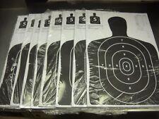 200 (SECONDS) Bulk Pack Silhouette hand gun, rifle paper shooting targets 11X17