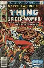 MARVEL TWO-IN-ONE #30 THING SPIDER-WOMAN FINE+ MARVEL (1974 SERIES) bin16-89