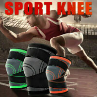 3D Weaving Knee Brace Pad Support Protect Compression For Sport Running Jogging