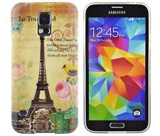 Funda de TPU para Samsung Galaxy Mini s5 funda protectora bolso cover parís torre Eiffel