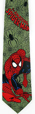 The Amazing Spiderman Mens Neck Tie Marvel Comics Movie Superhero Taupe Necktie