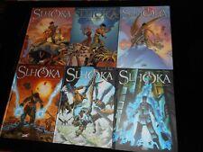 Godderidge / Floch : Cycle Slhoka 1 à 6 Editions Soleil