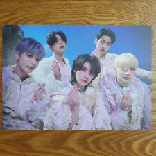 Group Official Lucky Draw Postcard TXT The Chaos Chapter : Freeze Genuine Kpop