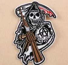 ECUSSON PATCH BRODE THERMOCOLLANT SONS OF ANARCHY SAMCRO BIKER MOTARD CHOPPER