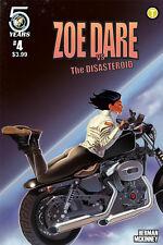 Zoe Dare Vs Disasteroid #4 Comic Book 2016 - Action Lab