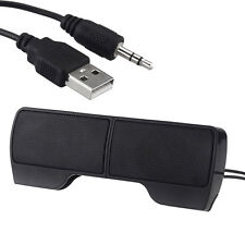 Mini Portable USB Stereo Speaker 3.5mm Audio  for Notebook PC Laptop MP3/4 Phone