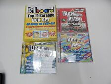 Karaoke CD+G lot Billboard Hits Tween Country 1960 1970 1980 1990 88 Songs