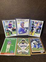 1989 Fleer Ken Griffey Jr Dodgers Bellinger Ichiro Baseball MLB Card Lot Bowman