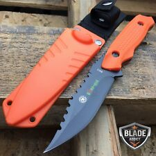ZOMBIE MILITARY TACTICAL HUNTING RAMBO KNIFE Scuba Rescue Diving Boot Full Tang