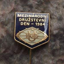 1984 URD Trade Union International National Workers Party Conference Pin Badge