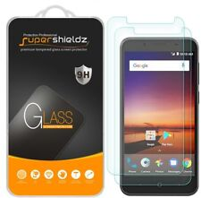 2X Supershieldz for ZTE ZFive G LTE Tempered Glass Screen Protector Saver