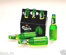 Accessories Miniature wine Dollhouse Carlsberg Beer 6 PCS set re-ment Size 103