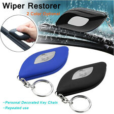 Universal Car Windshield Rubber Strip Wiper Blade Repair Restorer Blue/Black