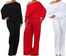Womens Plus Solid Jumpsuits Rompers Ebay