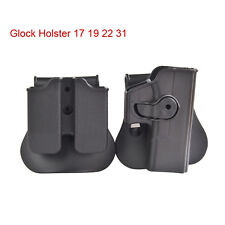 Tactical Retention Roto Double Magazine Pouch Right Hand Holster Airsoft G17 19
