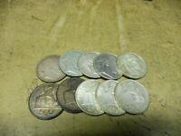 Anlegerposten , Belgien Silber , 10 x 50 Franc , 125 gramm , Investorenpaket